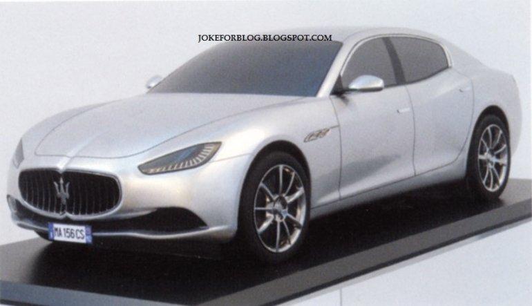 Maserati Ghibli side
