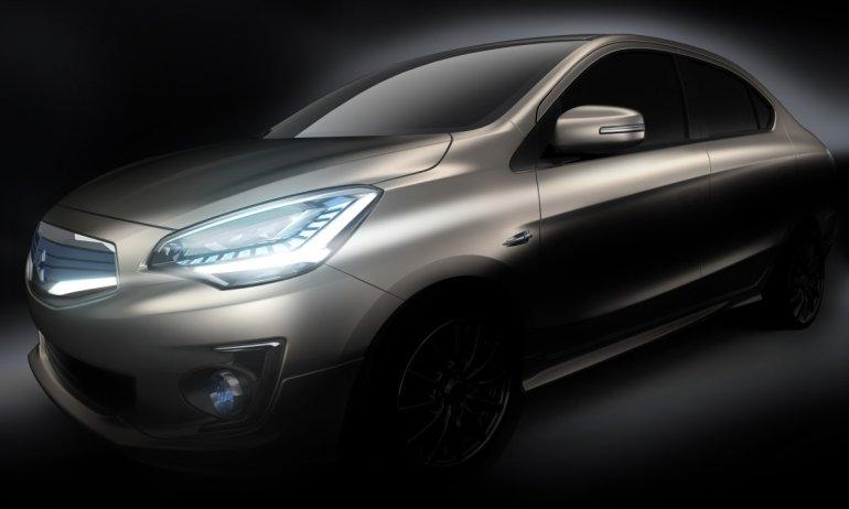 Mitsubishi Concept G4 Compact Sedan Concept Car