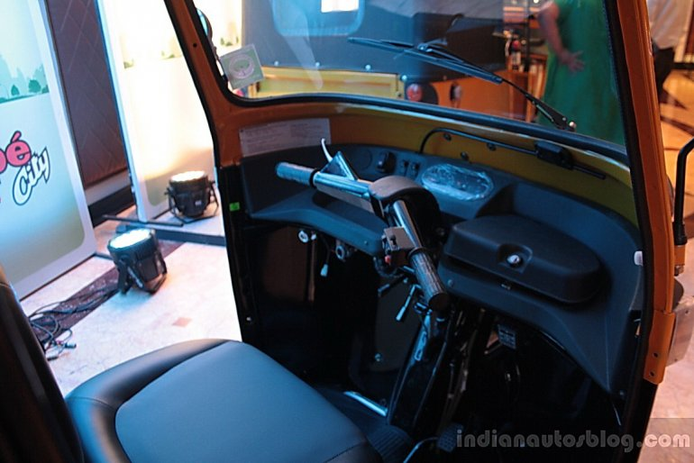 Piaggio Ape City dashboard