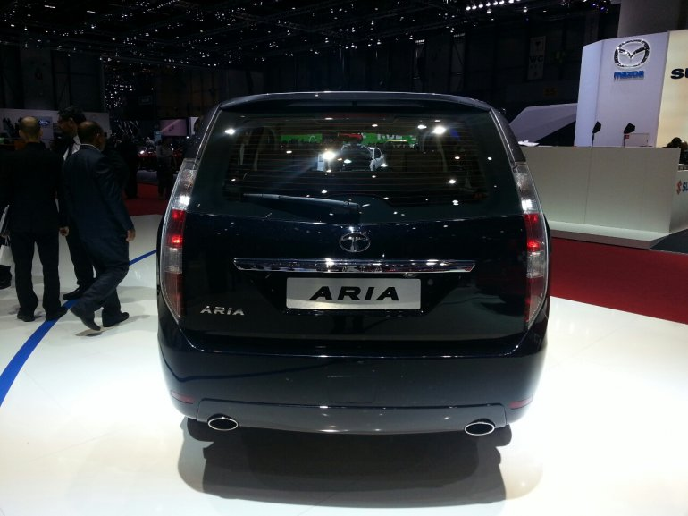 Tata Aria facelift rear
