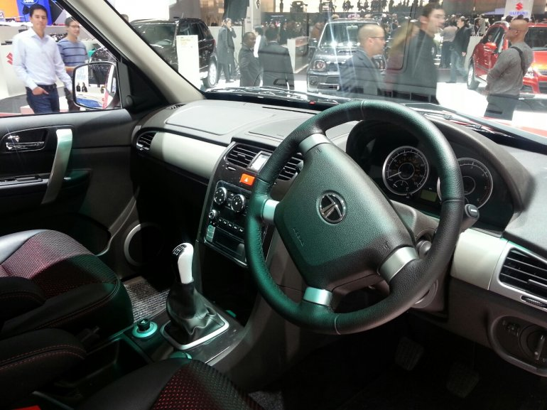Tata Safari Storme Mountain Rescue interiors