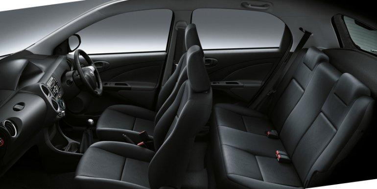 Toyota Etios Valco seats