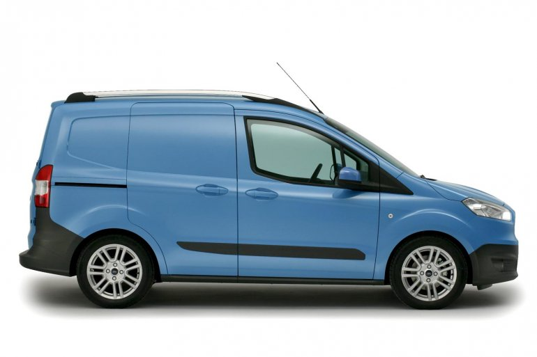 2013 Ford Transit Courier side view