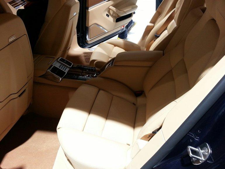 Porsche Panamera facelift 4S executive auto shanghai 2013 live interior