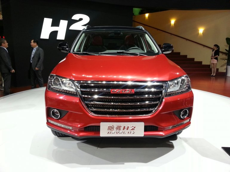 Haval H2 at the 2013 Auto Shanghai