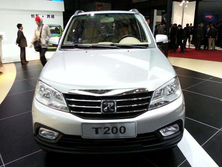 Zotye T200 at 2013 Auto Shanghai