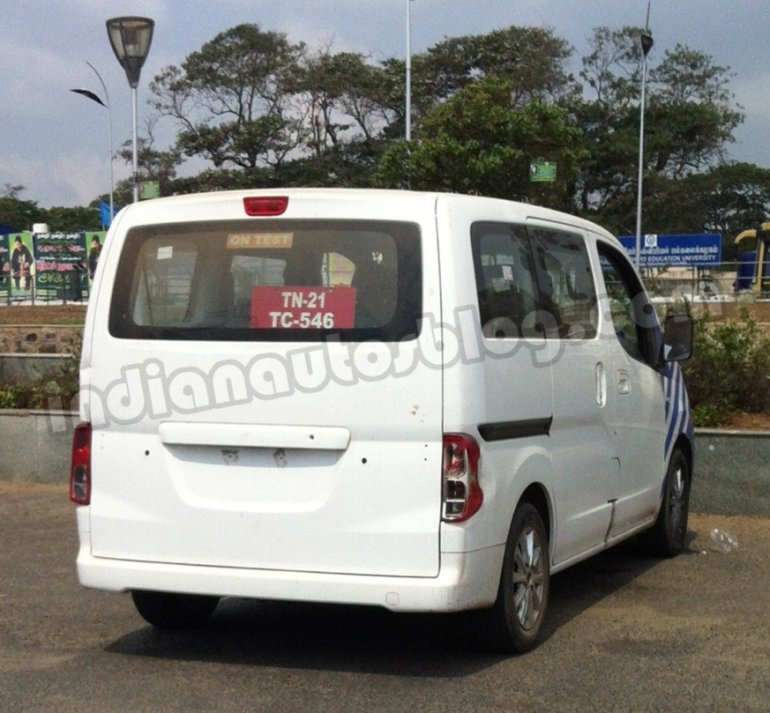Ashok Leyland Stile spied chennai rear bright