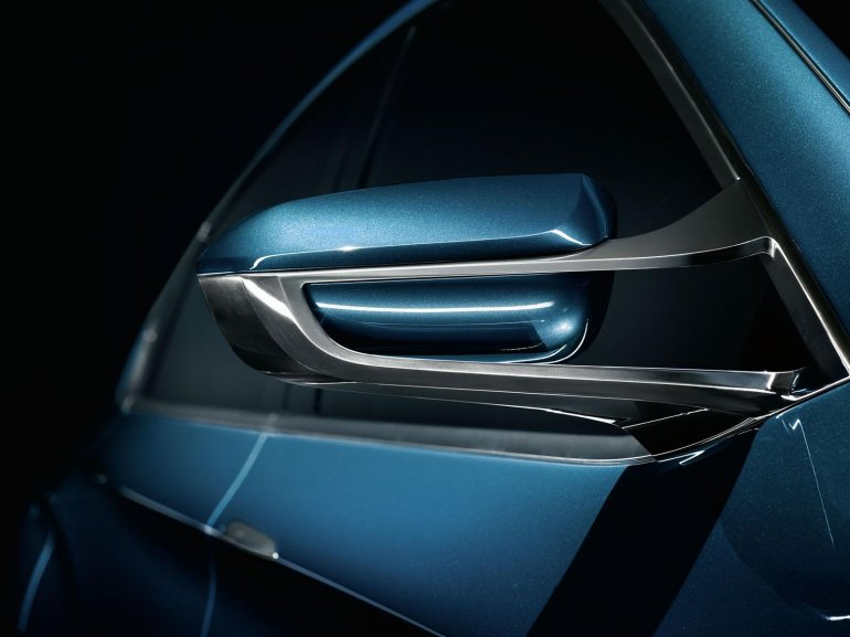 BMW Concept X4 side mirror