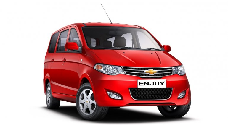 Chevrolet enjoy MPV front