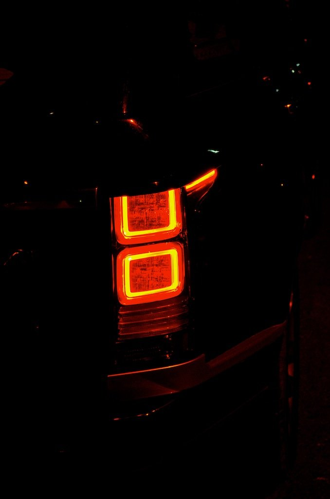 Range Rover tail light