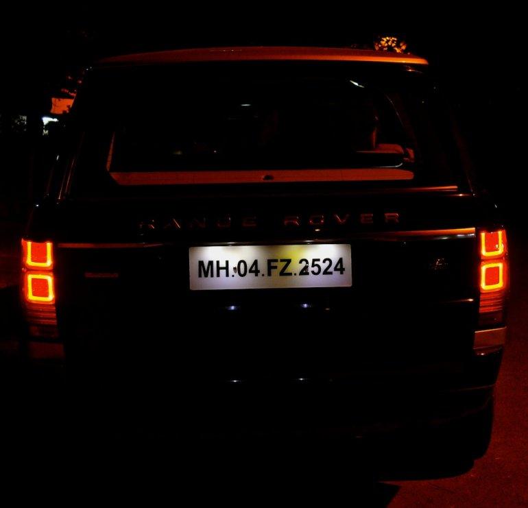 Range Rover rear