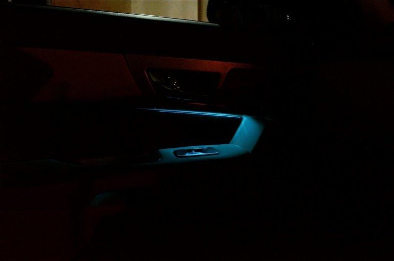 Jaguar XF lighting