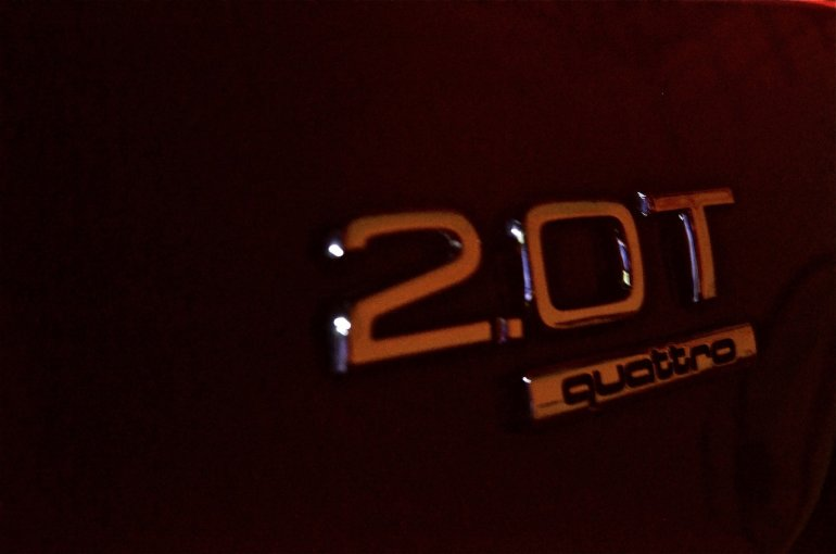 Audi Q3 petrol badging