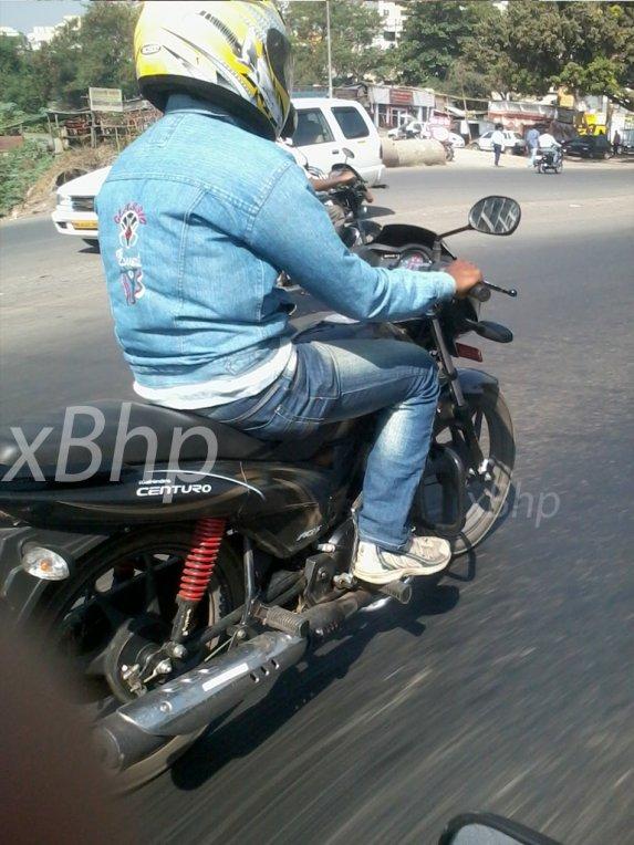Mahindra centuro testing side