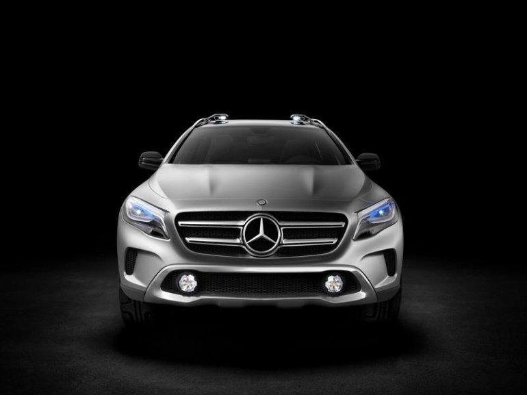 Mercedes GLA Concept front