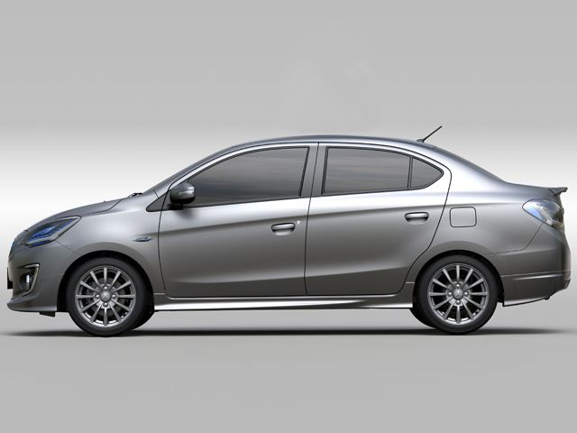 Mitsubishi G4 Concept side