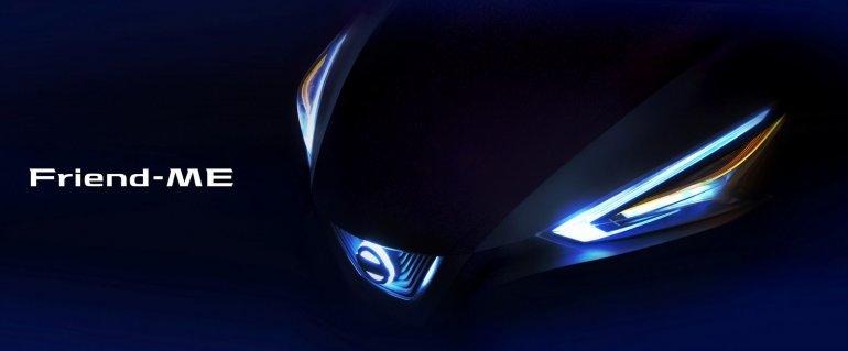 Nissan Friend-ME concept front