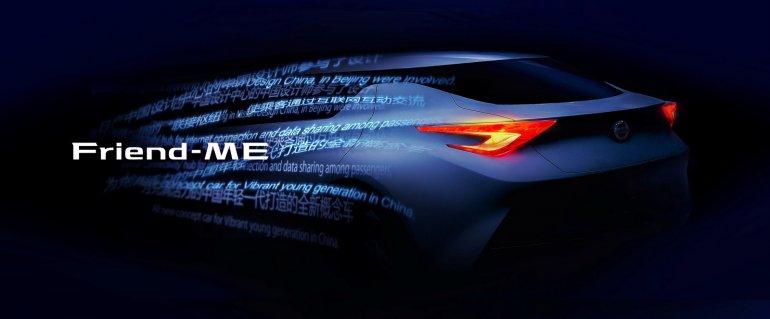 Nissan Friend-ME concept rear