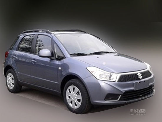 Suzuki SX4 China facelift front quarter