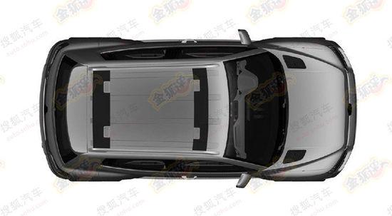 VW Taigun chinese patent leak top