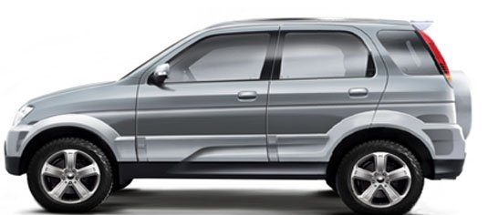 Zotye T200 side