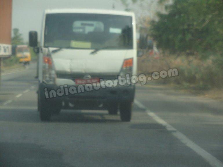 Ashok Leyland Partner spied Chennai