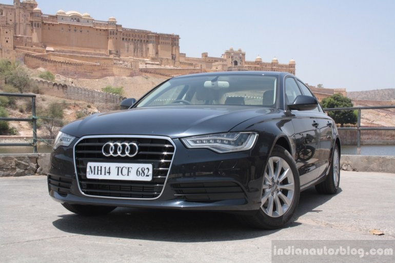 Audi A6 Special Edition front three quarters