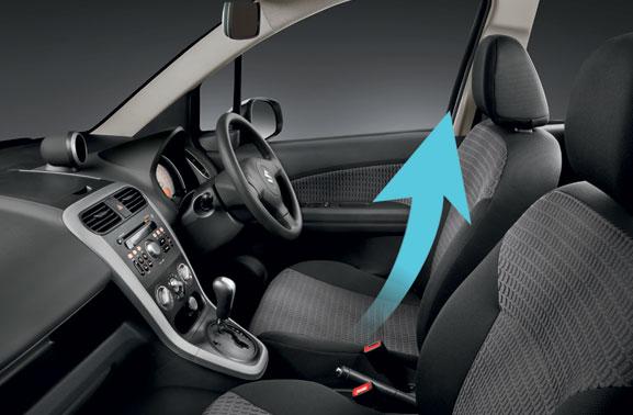 Suzuki Splash facelift launch in Indonesia interior
