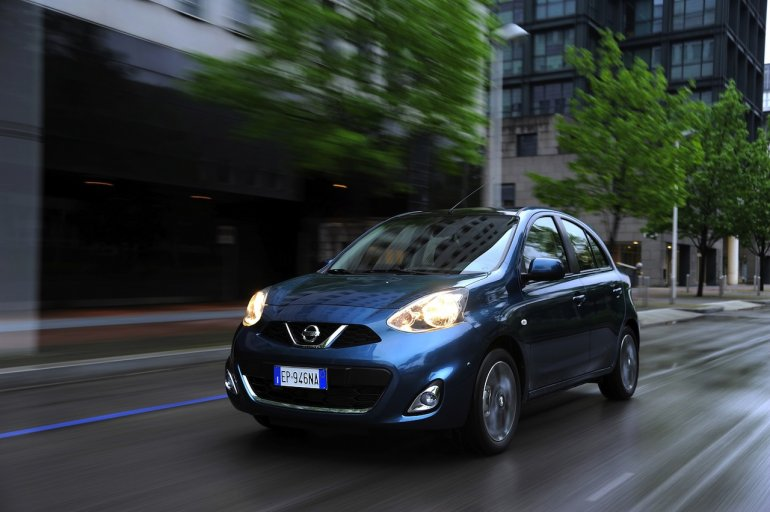 2013 Nissan Micra facelift Blue color