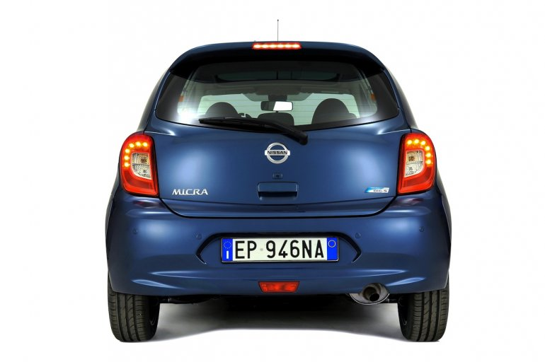 2013 Nissan Micra facelift rear