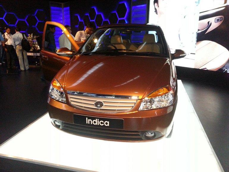 2013 Tata Indica eV2 front