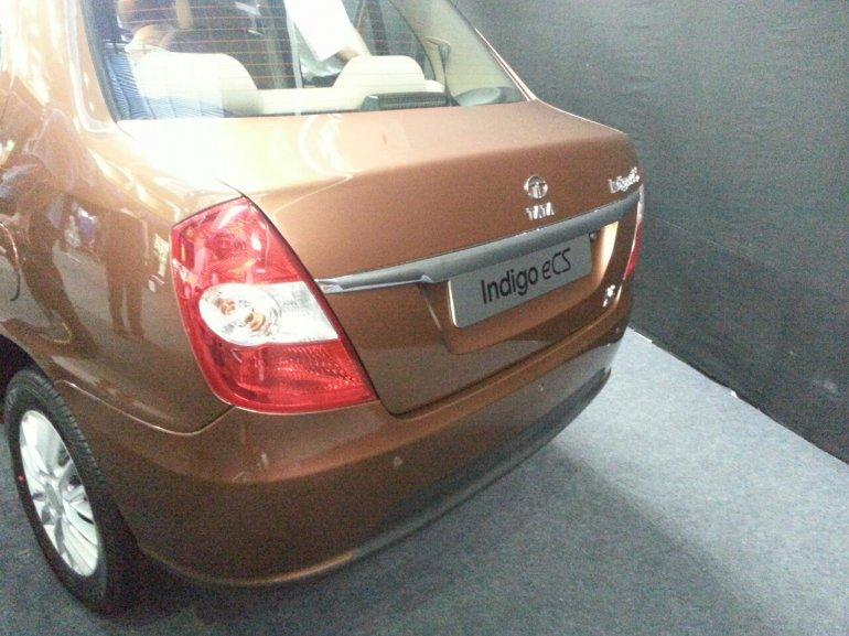 2013 Tata Indigo eCS bootlid