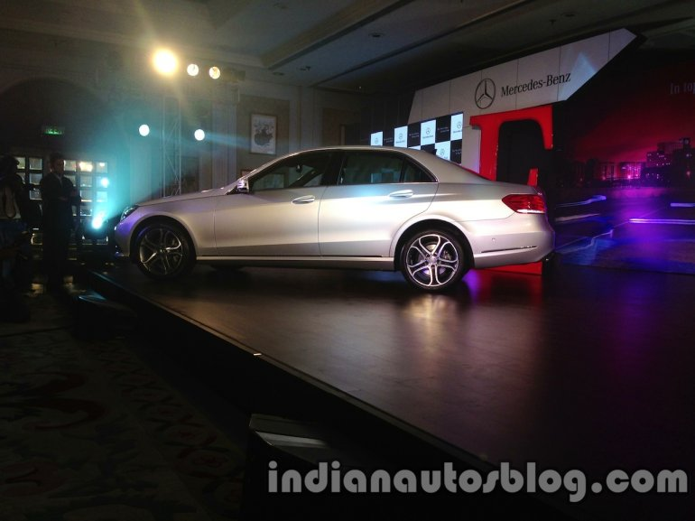 2014 Mercedes E Class launched in India side