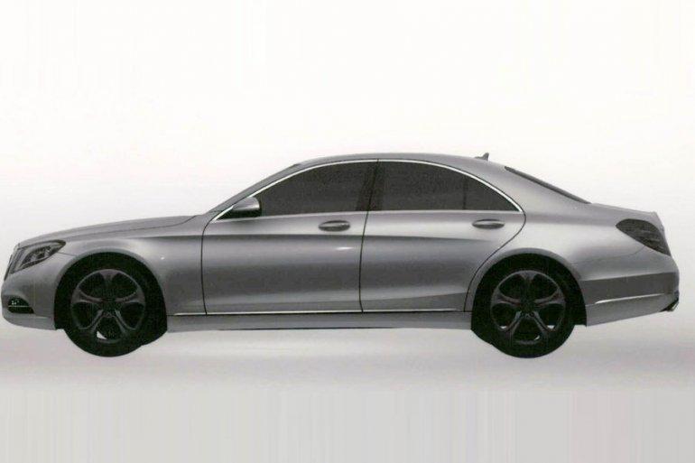 2014 Mercedes S Class S500 Hybrid Plus left side