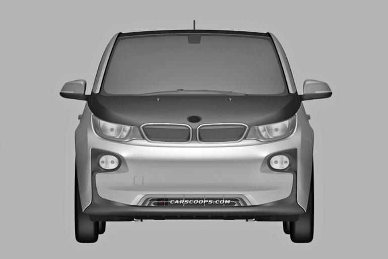 BMW i3 production patent leak front