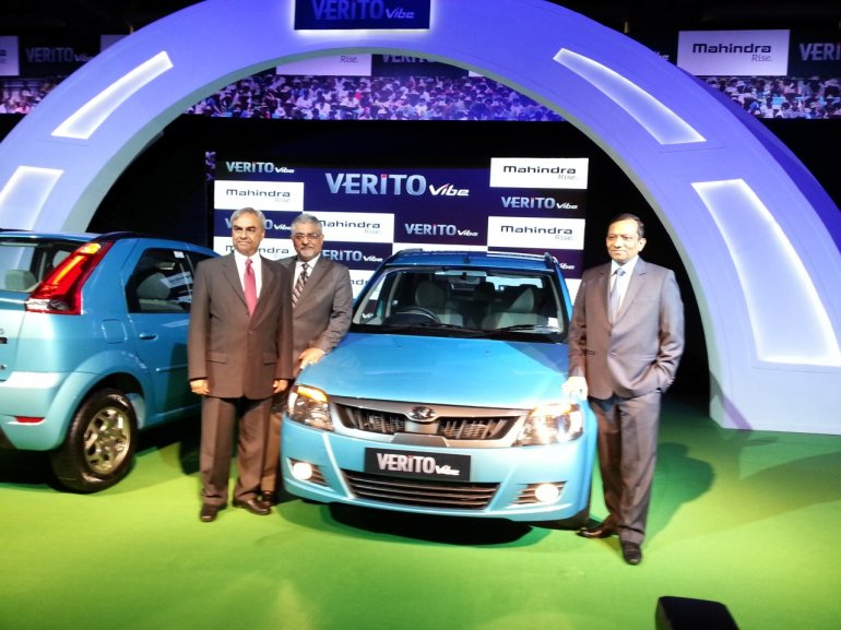 Live Mahindra Verito Vibe launched in India