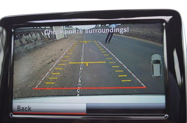 Mercedes A Class A180 rear camera