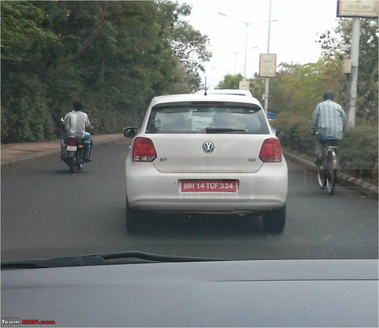 VW Polo GT TDI spied in India