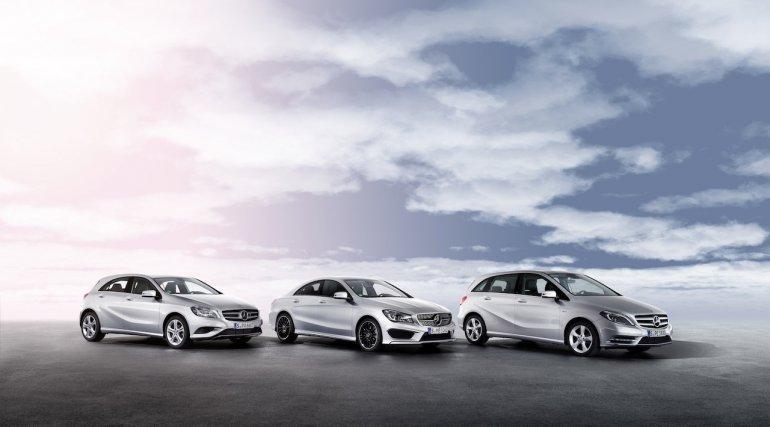 Mercedes A Class, B Class and CLA Class