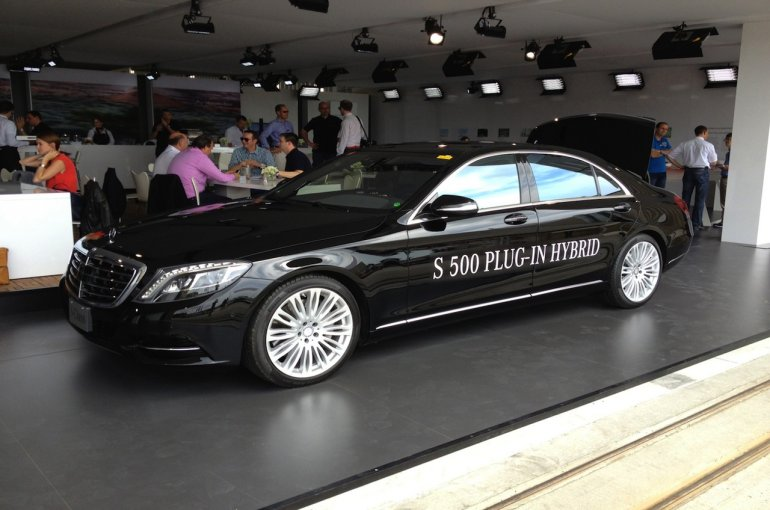 2014 Mercedes Benz S Class Plug in Hybrid