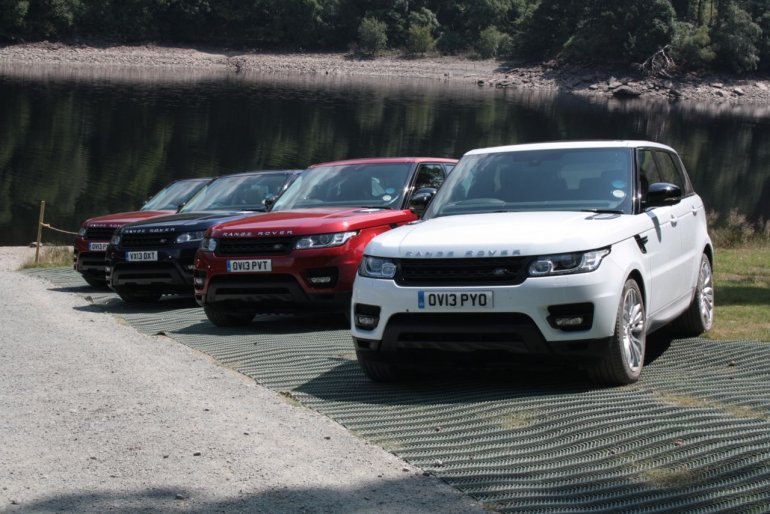 2014 Range Rover Sport global media drive