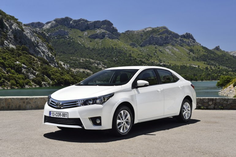 2014 Toyota Corolla European specification