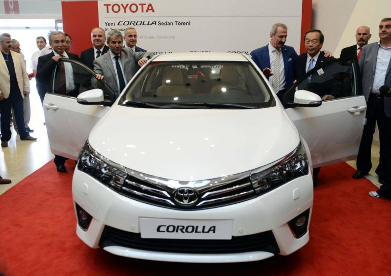 2014 Toyota Corolla first car rollout in Turkey