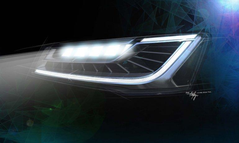 Audi Matrix LED Headlamps in A8