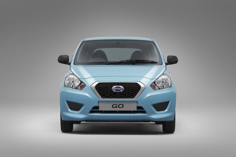 Datsun Go front fascia official image