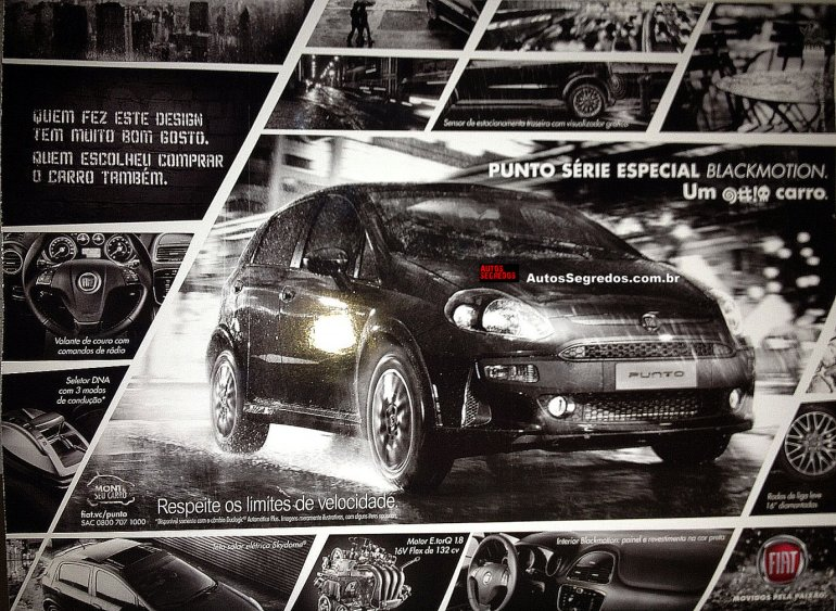 Fiat Punto BlackMotion special edition Brazil