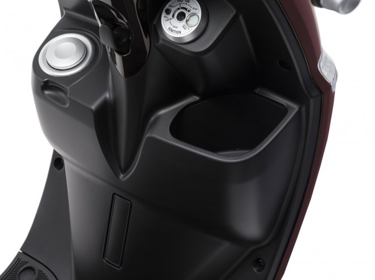 Fuel filler of the Yamaha D'elight scooter