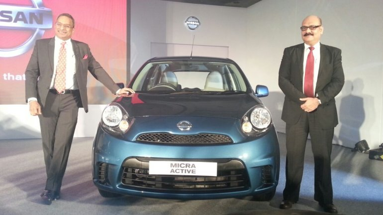 Nissan Micra Active launched