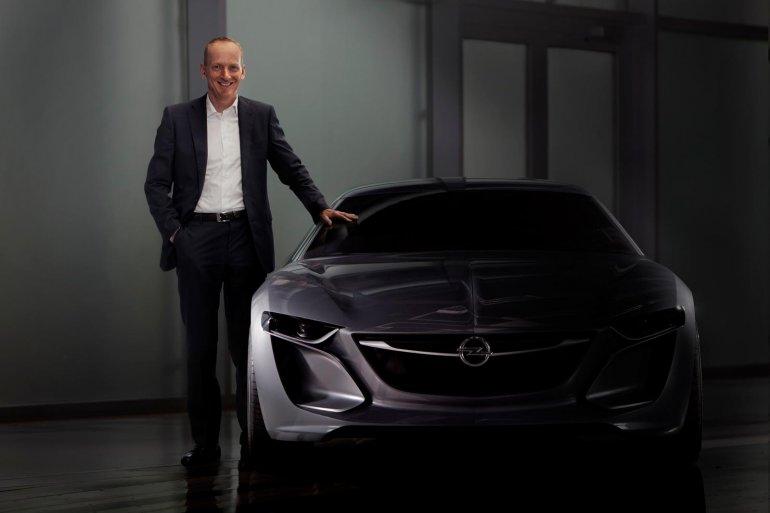 Opel Vauxhall Monza concept front