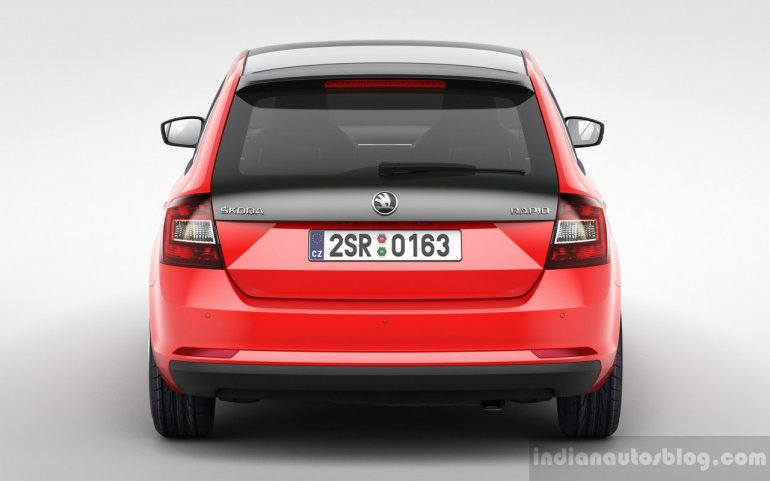Skoda Rapid Spaceback rear